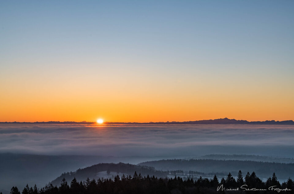 Sonne – aber erst ab 1'000m