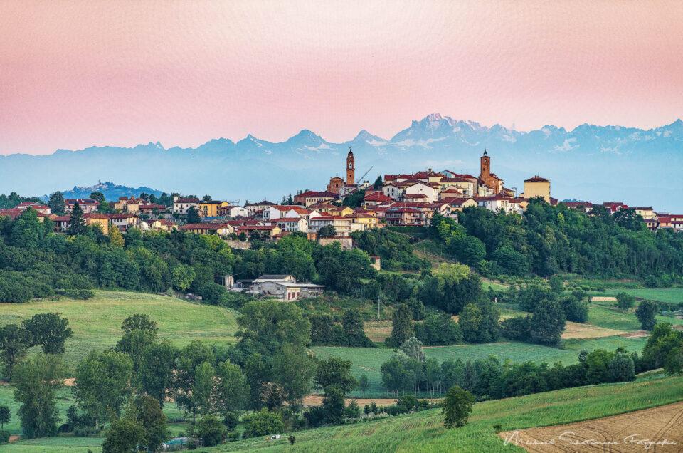 Sonne im Piemont